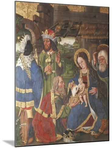 Adoration of the Magi--Mounted Giclee Print