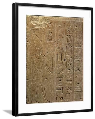 Egypt, Luxor, Ancient Egypt Museum, Quartzite Obelisks of Hatshepsut from Temple of Amon in Kanak--Framed Art Print