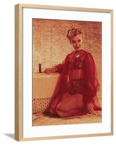 Marilyn Monroe, Print from the Archives of 'Silver Screen' Magazine--Framed Art Print