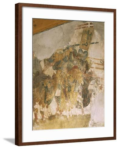 Knights in Battle, from Celebration of Military Glories of Castelbarcos--Framed Art Print