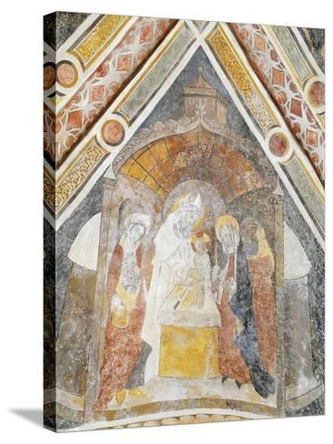Jesus Being Presented in Temple, Detail--Stretched Canvas Print