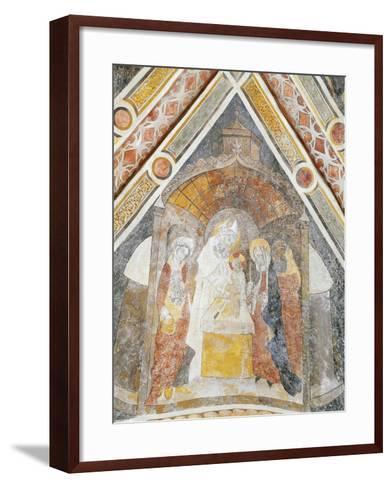 Jesus Being Presented in Temple, Detail--Framed Art Print