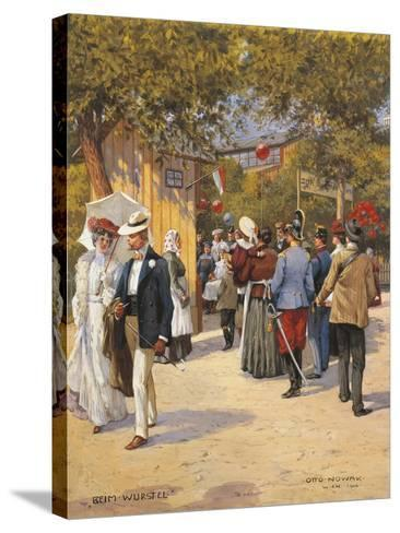 Austria, Vienna, a Walk in the Prater Painting--Stretched Canvas Print