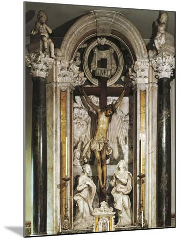 Crucifix Altar from Recco Parish Church--Mounted Giclee Print