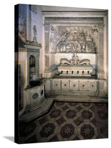 The Monks' Washbasin, 1488--Stretched Canvas Print
