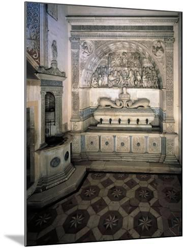 The Monks' Washbasin, 1488--Mounted Giclee Print