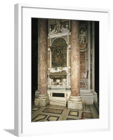 Tomb of Innocent VIII, 1493-1497--Framed Art Print