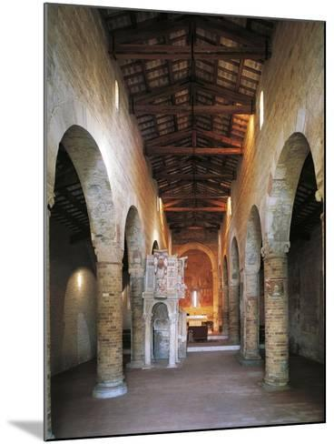 Interior of the Abbey of Santa Maria Del Lago, Moscufo, Abruzzo, Italy--Mounted Giclee Print