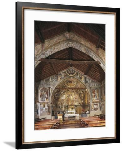 Overall View of Apse and Frescoes--Framed Art Print