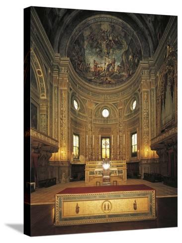 High Altar with Apse, Basilica of St Andrew--Stretched Canvas Print