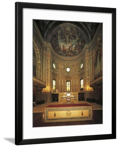 High Altar with Apse, Basilica of St Andrew--Framed Art Print