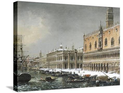 Italy, Venice, Riva Degli Schiavoni--Stretched Canvas Print