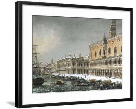 Italy, Venice, Riva Degli Schiavoni--Framed Art Print