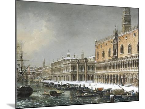Italy, Venice, Riva Degli Schiavoni--Mounted Giclee Print