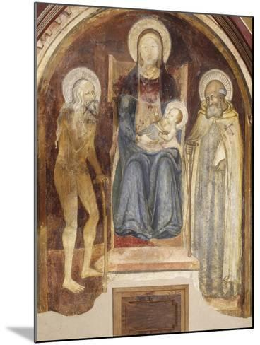 Madonna and Child with Saints, 14th-15th Century--Mounted Giclee Print