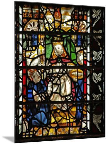 Window W58 Depicting St Thomas Becket with the Pope--Mounted Giclee Print