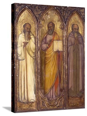 Three Apostles: St. Andrew, St. Paul, St. Luke--Stretched Canvas Print