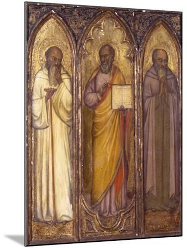 Three Apostles: St. Andrew, St. Paul, St. Luke--Mounted Giclee Print