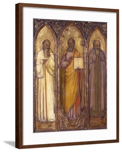 Three Apostles: St. Andrew, St. Paul, St. Luke--Framed Art Print