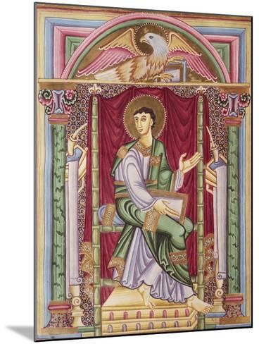 Saint John, Miniature from the Caesareus Upsaliensis Code, 1045, Manuscript--Mounted Giclee Print