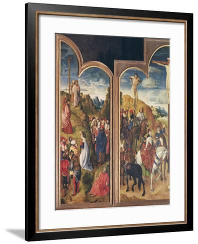 Belgium, Ghent, St Bavo Church, Crucifixion and Serpent of Bronze--Framed Art Print