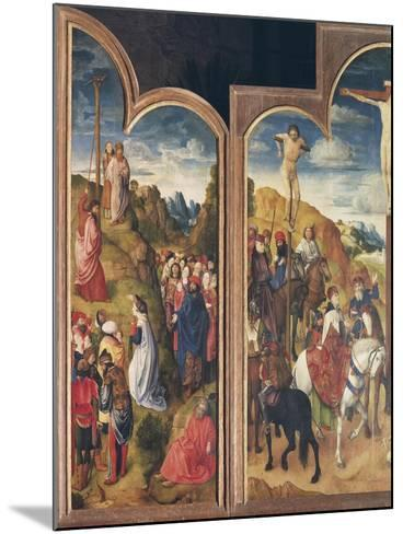Belgium, Ghent, St Bavo Church, Crucifixion and Serpent of Bronze--Mounted Giclee Print
