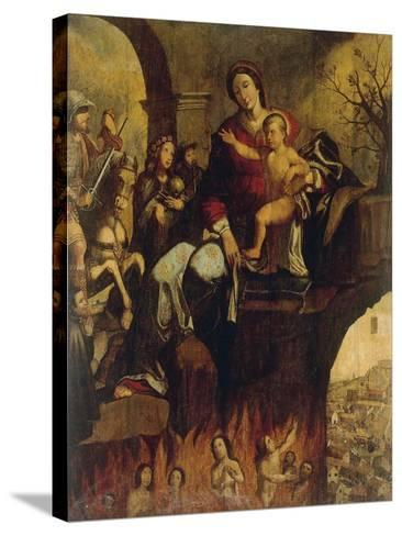 Madonna of Plague--Stretched Canvas Print