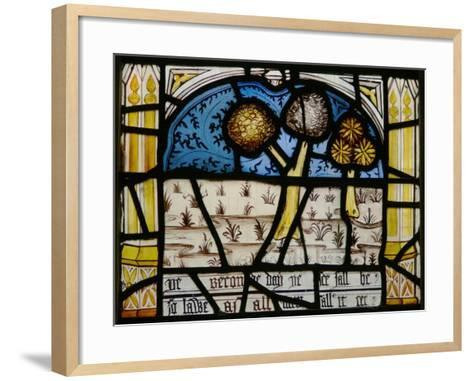 Window N3 Depicting the Last Fifteen Days of the World--Framed Art Print