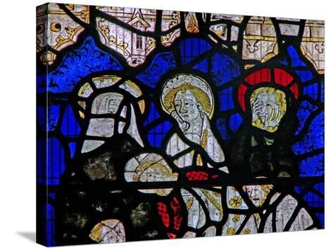 Window Ww Depicting the Entombment--Stretched Canvas Print