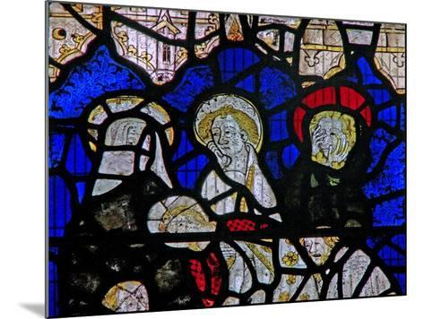 Window Ww Depicting the Entombment--Mounted Giclee Print