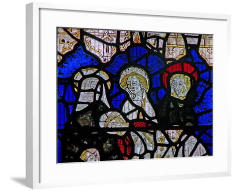 Window Ww Depicting the Entombment--Framed Art Print