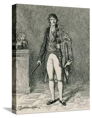 Francois-Joseph Lefebvre--Stretched Canvas Print