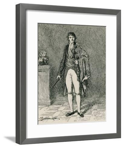 Francois-Joseph Lefebvre--Framed Art Print