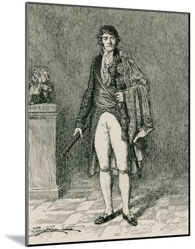 Francois-Joseph Lefebvre--Mounted Giclee Print