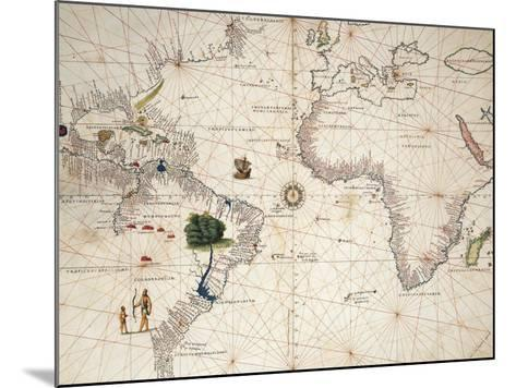 Africa, Europe and Part of Americas, from Atlas of the World in Thirty-Three Maps--Mounted Giclee Print