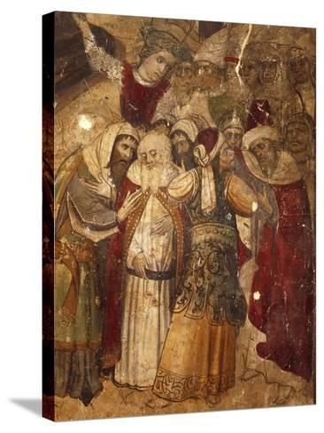 Disciples, Detail from Calvary--Stretched Canvas Print