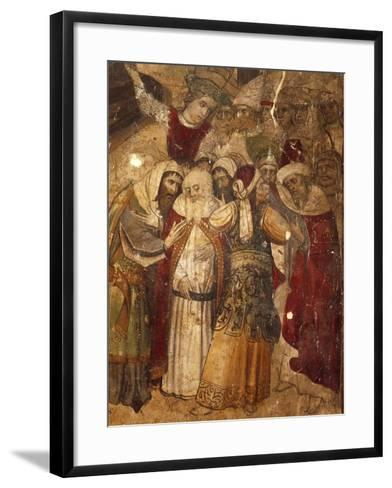 Disciples, Detail from Calvary--Framed Art Print