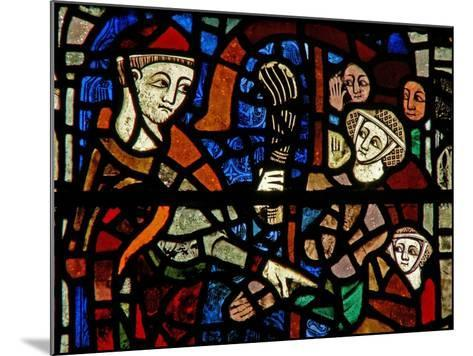 Window W38 Depicting the Administration of Penance--Mounted Giclee Print