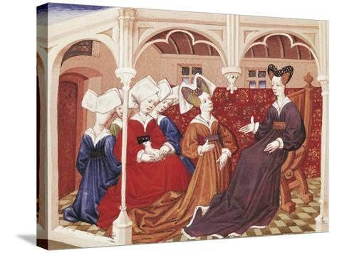 Iseult in the Company of Noble Women--Stretched Canvas Print
