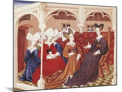 Iseult in the Company of Noble Women--Mounted Giclee Print