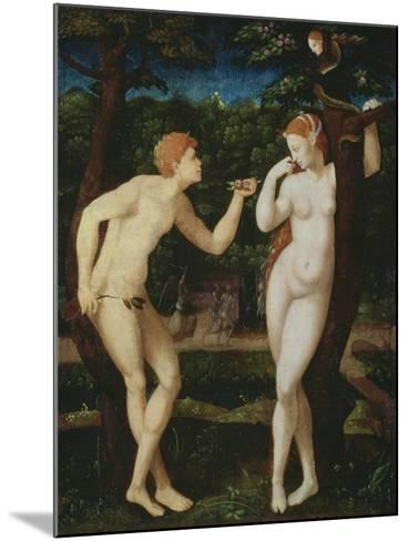 Adam and Eve--Mounted Giclee Print