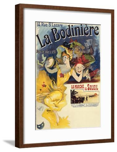 La Bodiniere, Poster by Jules Cheret--Framed Art Print