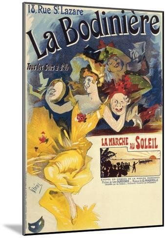 La Bodiniere, Poster by Jules Cheret--Mounted Giclee Print