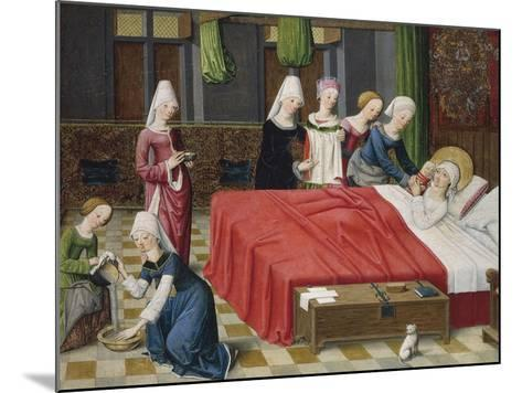 Birth of the Virgin, 1485--Mounted Giclee Print