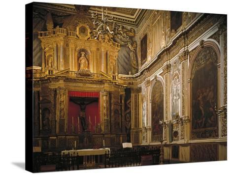 Black Christ's Chapel, Church--Stretched Canvas Print