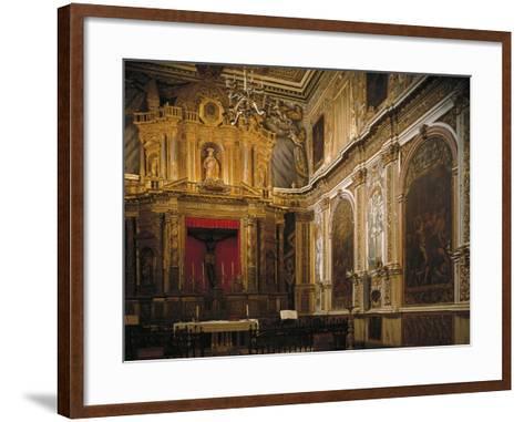 Black Christ's Chapel, Church--Framed Art Print