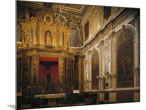 Black Christ's Chapel, Church--Mounted Giclee Print