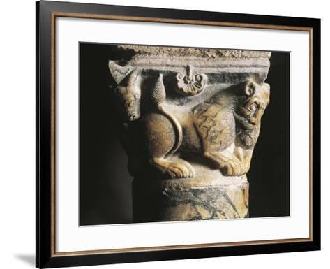 Capital Detail, Crypt of Basilica of San Nicola Di Bari, 1087, Apulia, Italy, 11th Century--Framed Art Print