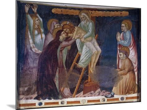 Deposition, 14th-Century Fresco of Apse, Basilica of Sant'Abbondio Como, Italy, 11th-16th Century--Mounted Giclee Print