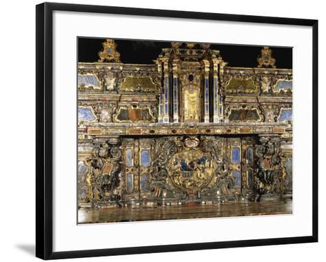 Detail of High Altar by Giovanni Battista Riccardi--Framed Art Print